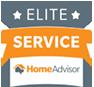 Elite Service logo | Acura Roofing