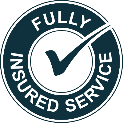 Fully Insured Service logo | Acura Roofing